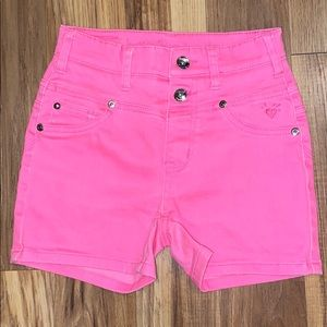 Girls Justice shorts. Size 12S